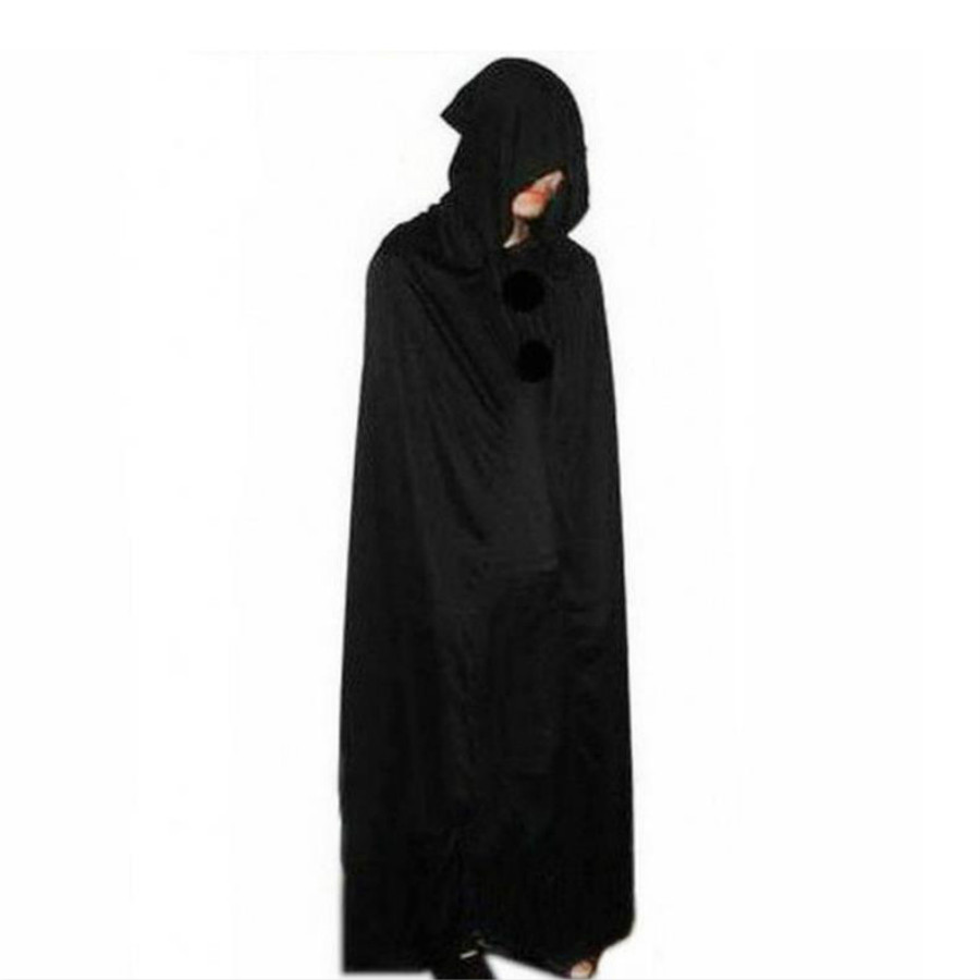 Hotsale Hooded Cloak Halloween Party Costumes Adult Death Vampire clothes Dresse