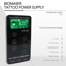 Touch Screen TP-5 Tattoo Power Supply HP-2  UPGRADE Intelligent Digital LCD Dual Tattoo Power Supplies Set 4 Color