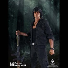 HaoYuTOYS ZH004 1/6 Jungle Wolf Rambo Stallone Head Carving + Body + Clothes Suit 12″ Collectible Figure Toys