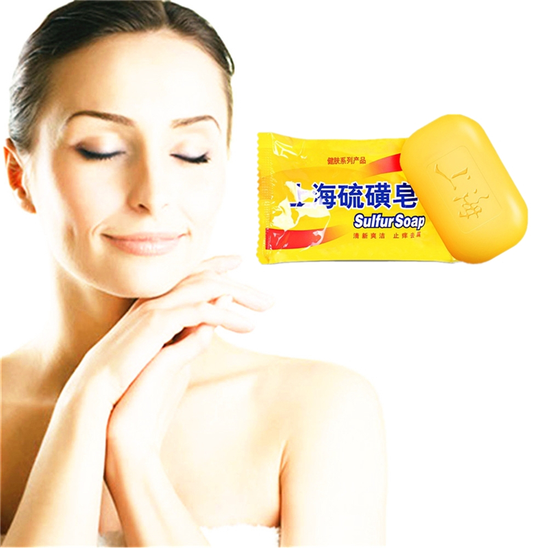 Sulfur Soap For Face & Body- 100% Natural & Fragrance Free - All Natural Sulphur Facial Cleanser For Oily & Acne Prone Skin