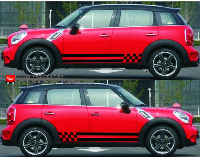 Vinyl Side Graphic Car Styling Side Doors Decals Car Sticker For