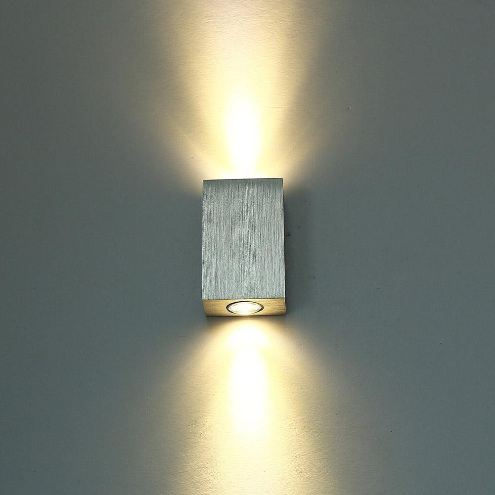 6W Small LED Wall Sconces Light Fixture Hardwired Two ... on Small Wall Sconce Light id=33985