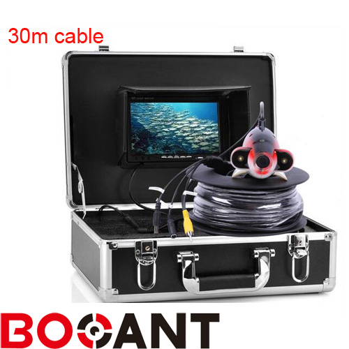 Original 30m Professional Fish Finder Underwater Fishing Video Camera 7 Color Monitor 600TVL HD CameraOriginal 30m Professional Fish Finder Underwater Fishing Video Camera 7 Color Monitor 600TVL HD Camera