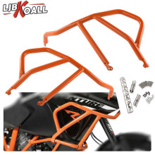 Orange Motorcycle Engine Bumper Upper Guard Crash Bars Protector Steel For KTM 1050 1190 Adventure R 2013 2014 2015 2016