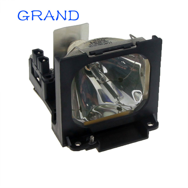 TLPL78 Replacement Projector Lamp with Housing for TOSHIBA TLP-380 / TLP-380U / TLP-381 / TLP-381U / TLP-780 / 780E Happyabte