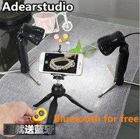 2pcs LED light Professional Portable Mini Kit Photo Photography Studio led photo Light Box photographic accessories CD50