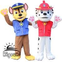 Sprzedają się jak ciepłe bułeczki New Arrival Dorosłych Miniony Patrol Psa pościg maskotka maskotki kostium fancy dress kostium kreskówka maskotka kostium