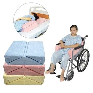 Image 5 - 3X Anti Bedsore Bedridden 환자 노인 침대 웨지 베개 고도 지원 쿠션 패드 다리 허리 허리 휠체어 세트