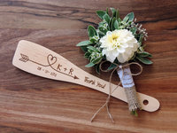 Custom Saved The Date Wedding Gift Wedding Favor Bridal Shower Favor Kitchen Decor Wooden Spoon SET