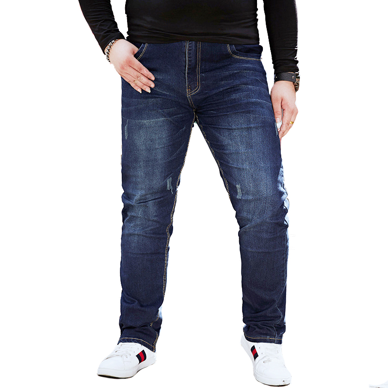 Hot Sales Classic Denim Men Pants Casual Jeans Men Plus Size 48 Stretch Mens Jeans Trousers Men Jeans Mannen Jean Homme RC6015