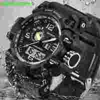SANDA Men S Military Sport Watch Top Brand Luxury Famous Electronic LED Digital Wrist Watch Male