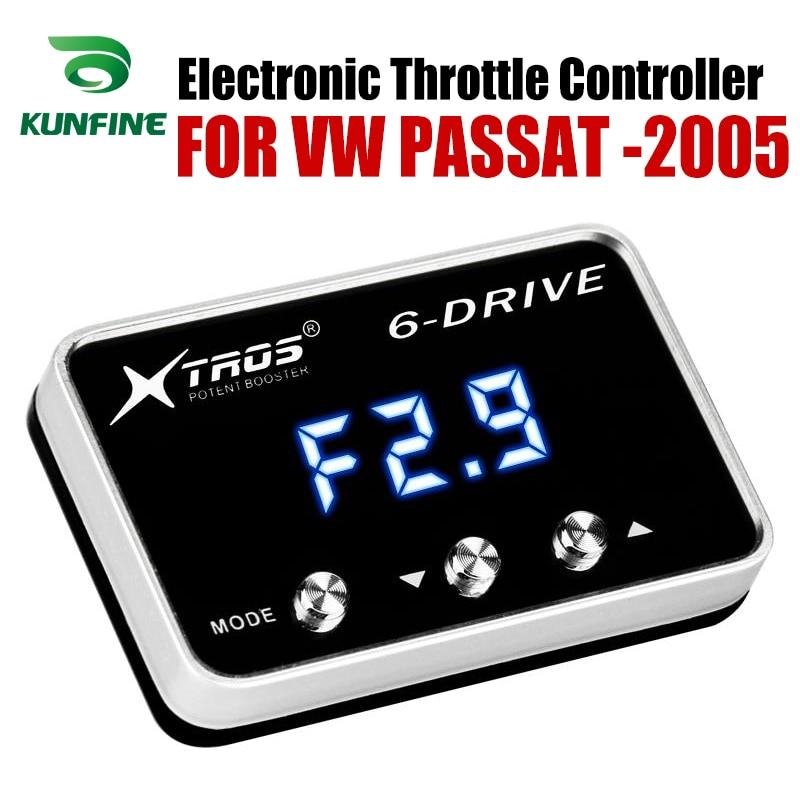 Автомобильный электронный контроллер дроссельной заслонки гоночный ускоритель мощный усилитель для Volkswagen PASSAT forward 2005 дизель Тюнинг Запчас...