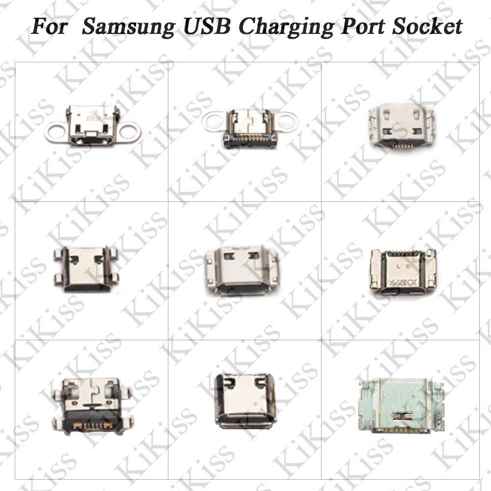 KiKiss Dock Charger Charging Port For Samsung S9 S9+ note 8 note 3 G7200 G7102 I9082 E300 Micro USB Connector Jack Socket Flex