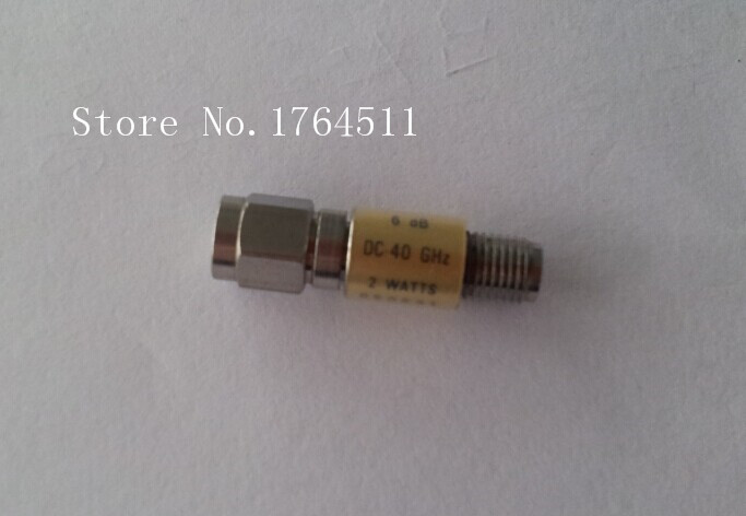 [BELLA] WILTRON 41KC-6 DC-40GHZ 6dB RF Fixed Precision Attenuator 2.92mm
