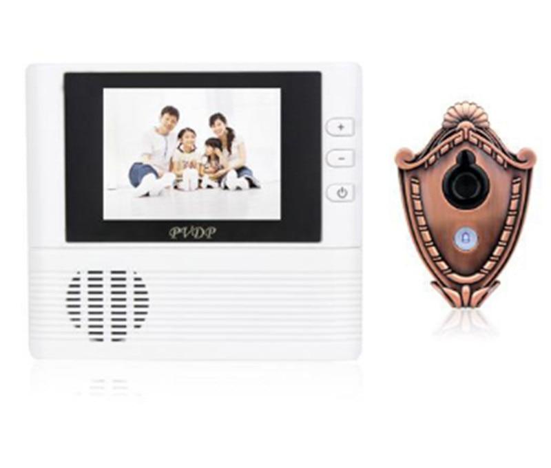 ФОТО 2.8 Inch TFT Monitor Peephole Viewer Video Doorbell