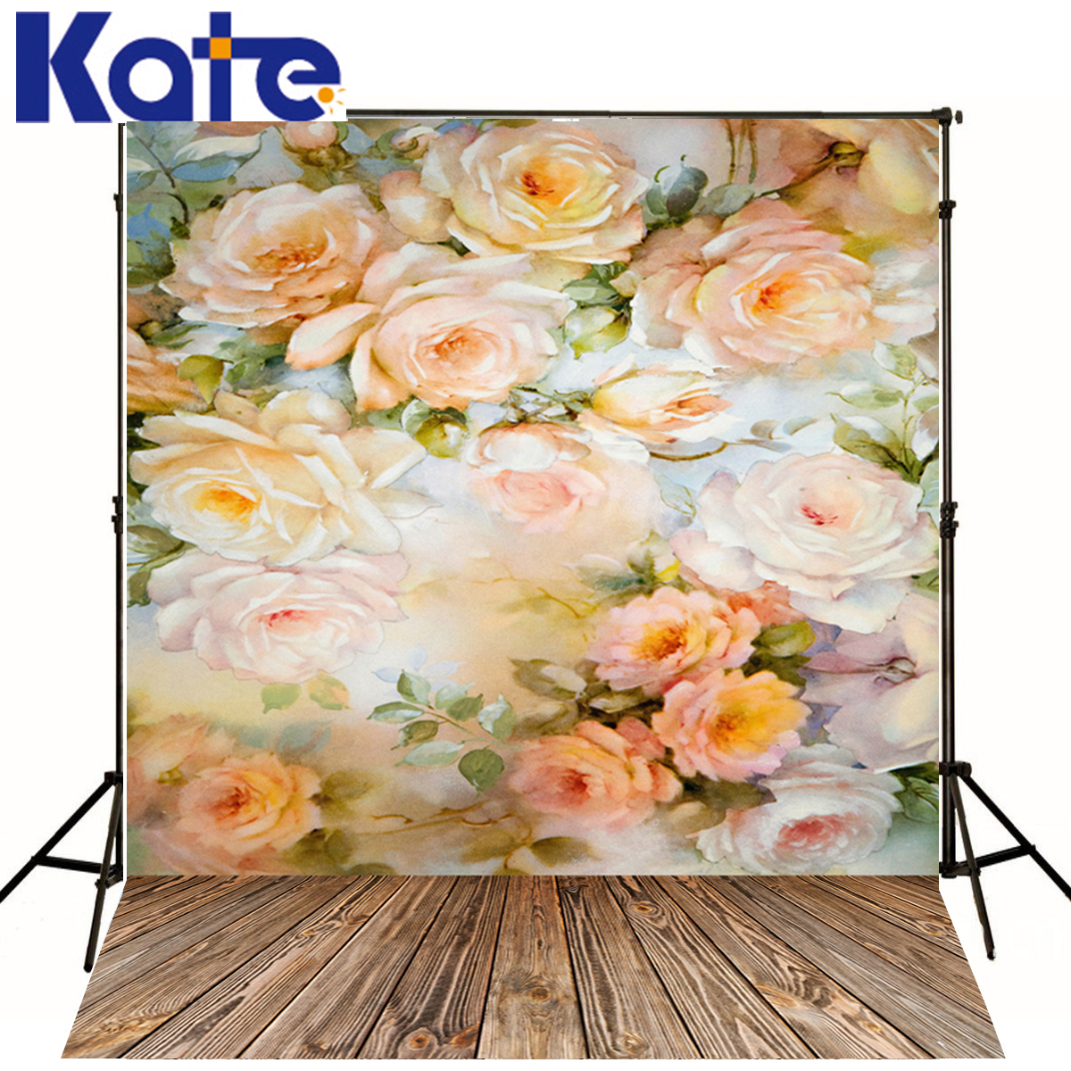 Kate Wedding Backdrops Photography Flower Baby Fondo Fotografico Boda Wood Floor Photocall Background For Photo Studio J01678 kate photo background wedding backdrop pink photography backdrops vintage wood floor background for photography studio