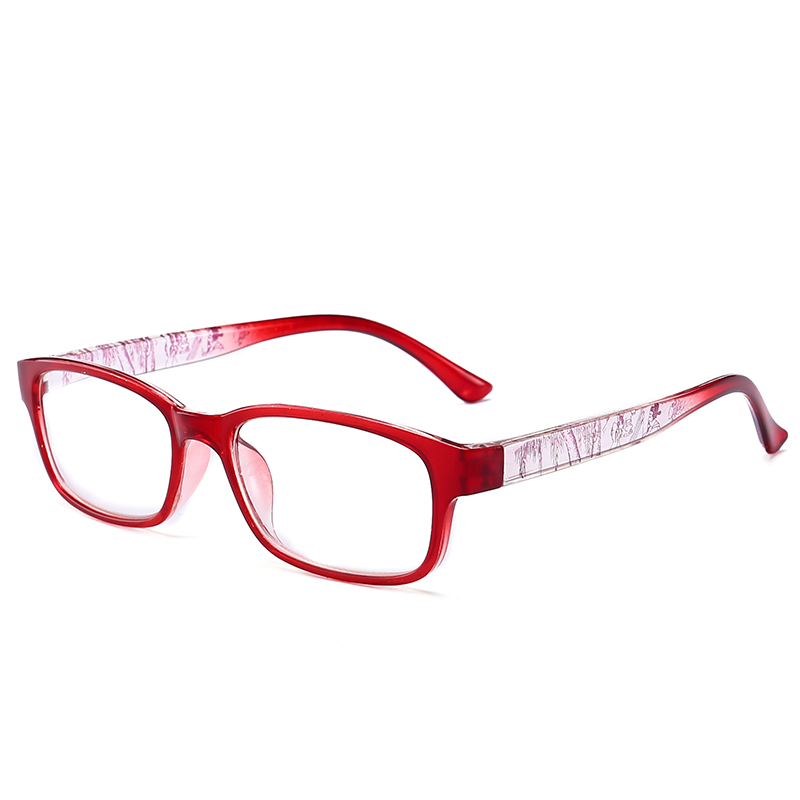 JN IMPRESSION High quality fashion color reading glasses womens ultra - light anti-fatigue glasses magnifying glass T18995
