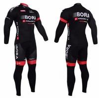 New 2018 Bora Cycling Jersey Set Long Sleeve 9d Gel Padded Sets Bike Clothing MTB Protective