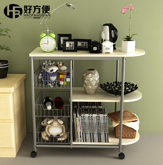 Multifunctional Kitchen Storage Racks Supplies Holders With Wheels Domestic And Shelving Units