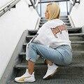 Propósito Turnê T-shirt Dos Homens Justin Bieber Mesmo Longos T camisas de Manga mulheres Hip hop Streetwear Tee De Grandes Dimensões camisa 2017 Novos Tees Tops