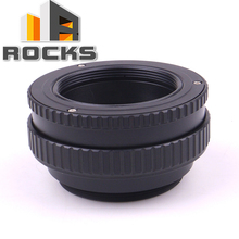 M39 lente para câmera m42 pixco ajustável focando helicóide tubo de extensão macro anel adaptador 17 31mm m39 m42 17mm 31mm