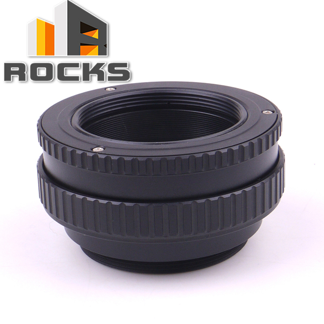Pixco M39 Lens to M42 Camera Adjustable Focusing Helicoid Ring Adapter 17 31mm Macro Extension Tube M39 M42 17mm 31mm