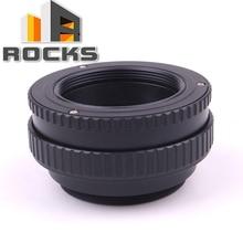 Pixco M39 obiektywu, aby M42 kamery regulowany skupiając Helicoid pierścień adaptera 17 31mm makro M39 M42 17 mm 31mm