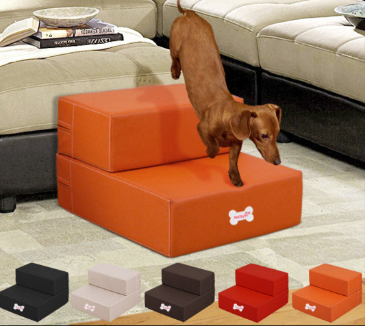 Delicieux Free Shipping Waterproof Cortex Pet Furniture Leather Pet Dog Stairs Puppy  Anti Slip Pet Stairs