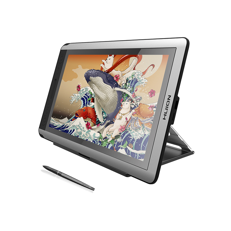 "Design Tablett Huion Kamvas Gt 156hd V2 15.6"" Graphics Drawing Monitor"
