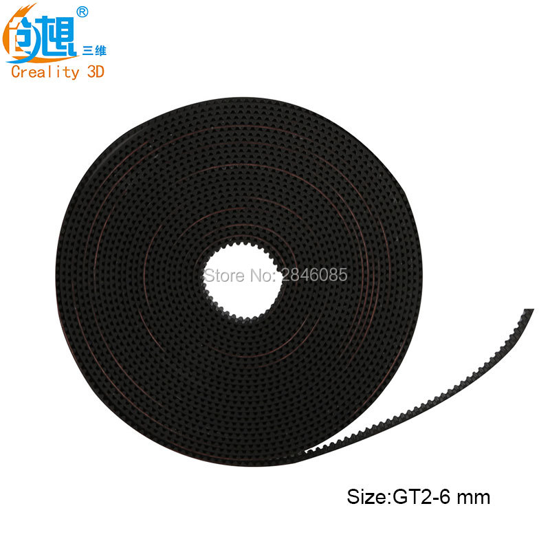 Creality 3D Printer Parts High Quality GT2 Size 6mm Optional open timing belt GT2 belt For Creality 3D Printer evans v dooley j happy rhymes 1 nursery rhymes and songs teacher s book