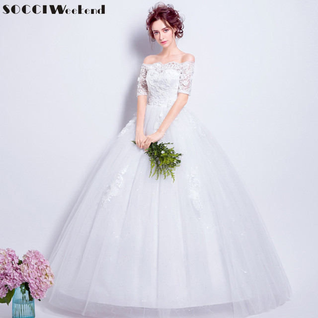 Socci Weekend Y Strapless Princess Wedding Dresses 2017 Formal Marriage Party Dress Vestido De Noiva China