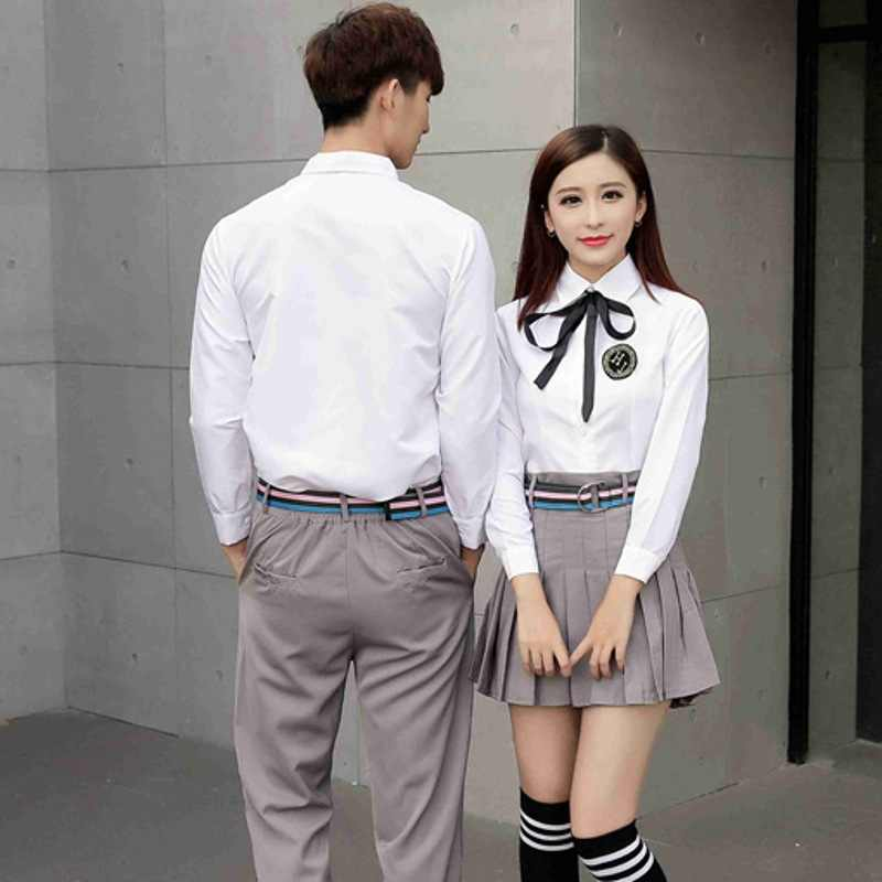 63c37c74a286 ... Adult Japanese Teenager School Uniform Students Summer School Wear Male  and Female High School Uniform Graduation