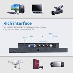 Image 5 - Eyoyo em08g 8 Polegada monitor pequeno hdmi, monitor portátil vga, tela cctv lcd 1280x720 16:9 ips visor do bnc av/vga