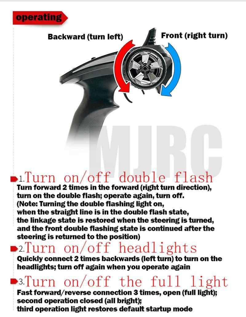 LED voor/achter en IC koplampen voor 1/10 klimmen auto TRAXXAS Trx4 TRX-4 linkage licht steering rem dagrijverlichting lichten