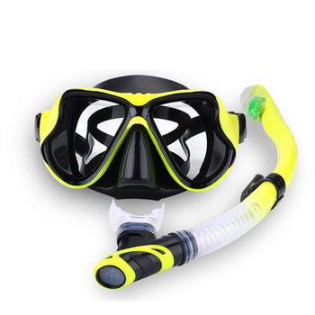 RKD Profesyonel Tüplü dalış maskesi Şnorkel Anti-Sis Gözlük Glasse Set Silikon Yüzme Balıkçılık Havuzu Ekipmanları 7 Renk Yetişkin