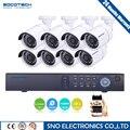 SOCOTECH Início 8CH CCTV Sistema de Segurança 8 canais HDMI 1080N AHD DVR HD de 2.0MP bala ao ar livre Câmera de Vigilância de Vídeo kit sistema
