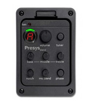 Presys blend Dual Mode Guitar Preamp EQ Tuner Piezo Pickup Equalizer System With Mic Beat Board Pickups