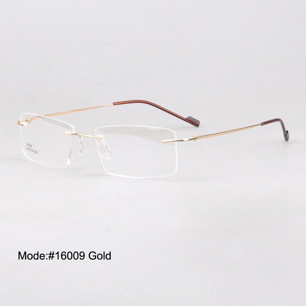 Brýle na dioptrické brýle Magic JIng na dioptrické brýle RX s optickým rámem bez obrouček brýlí pro oči