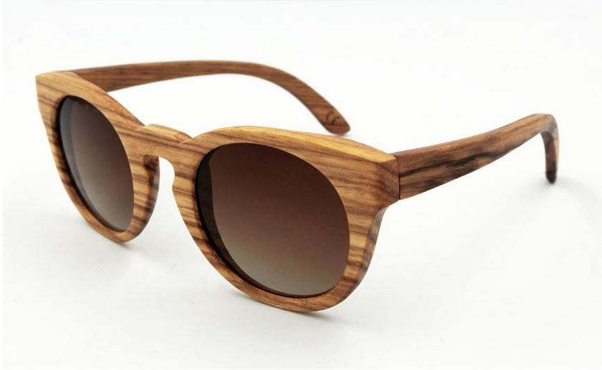 the latest fashion handmade wooden frame sunglasses polarized glasses colorful retro reflective lenses male female