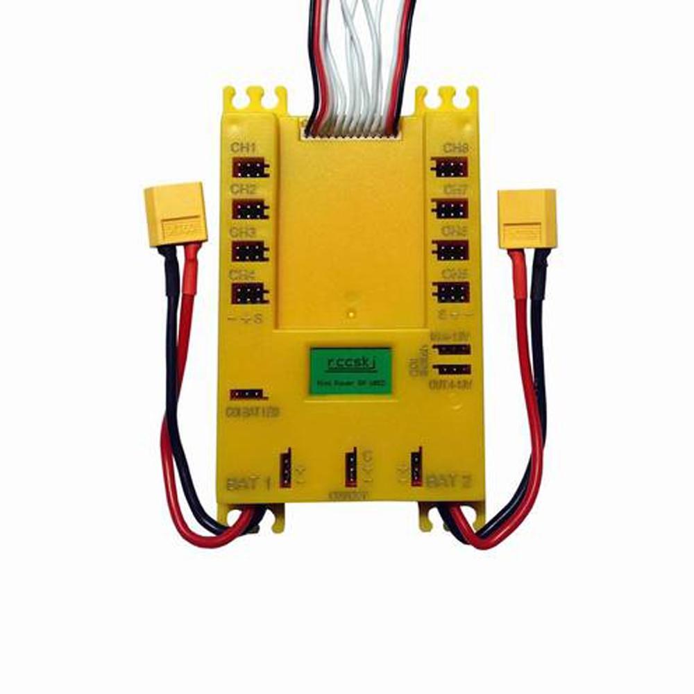 Mini panneau de Section de Distribution Servo de puissance DP Ubec 20A 7-13 V