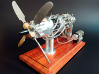 Двигатель Стирлинга модели DIY игрушки инновационные наука игрушки подарки для Новинка 2017 года год новый горячий воздух наклонного детские