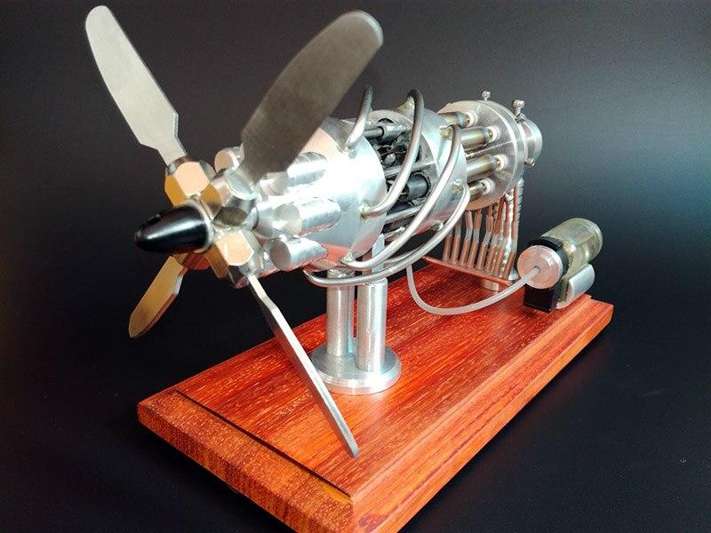 Moteur Stirling Modèles bricolage Jouets Innovants jouet scientifique cadeaux pour 2017 Nouvelle Année New Hot Air Plateau oscillant Jouets Enfants Éducatifs