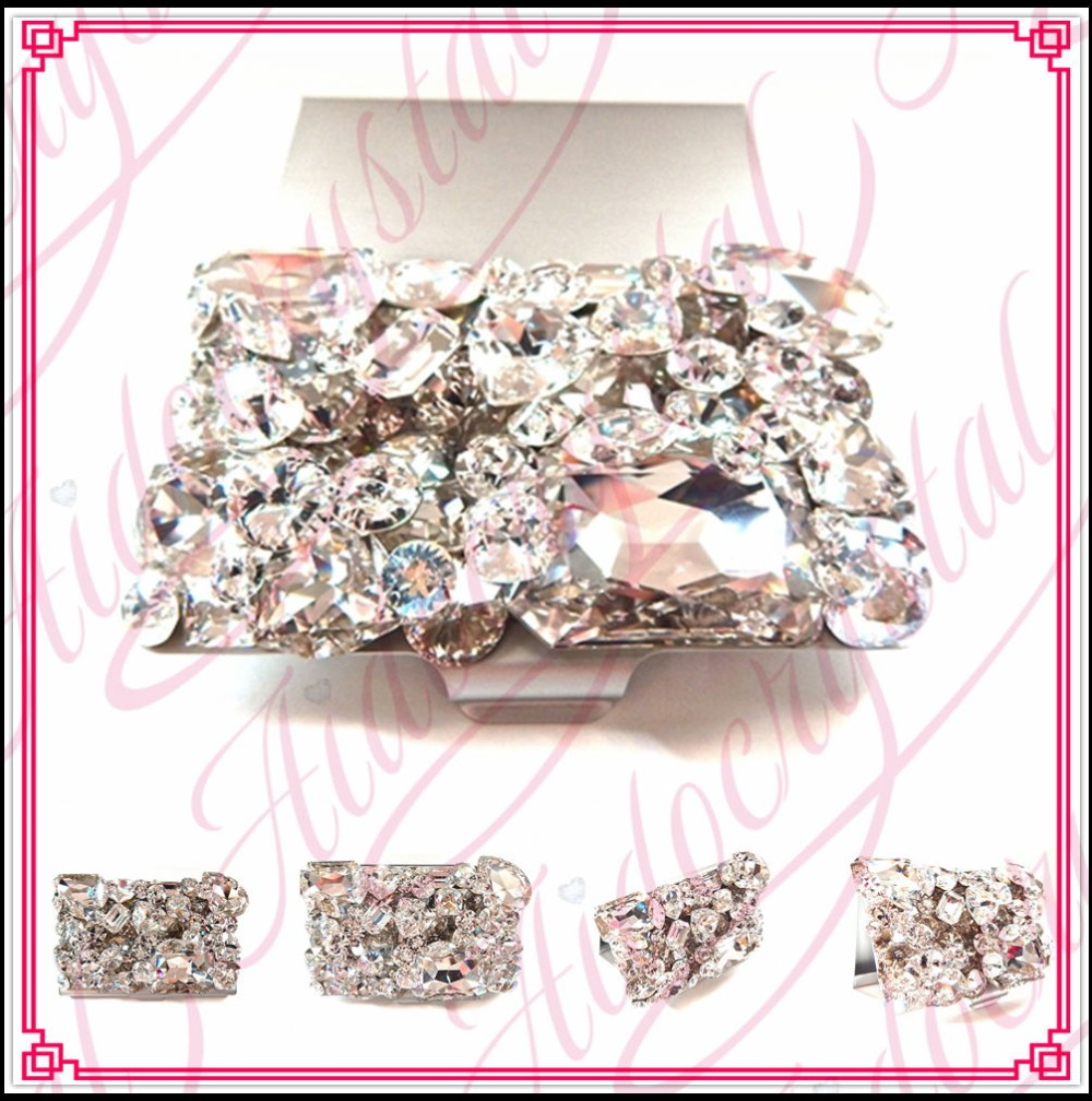 Aidocrystal Wholesale Women business card holders stainless steel ...