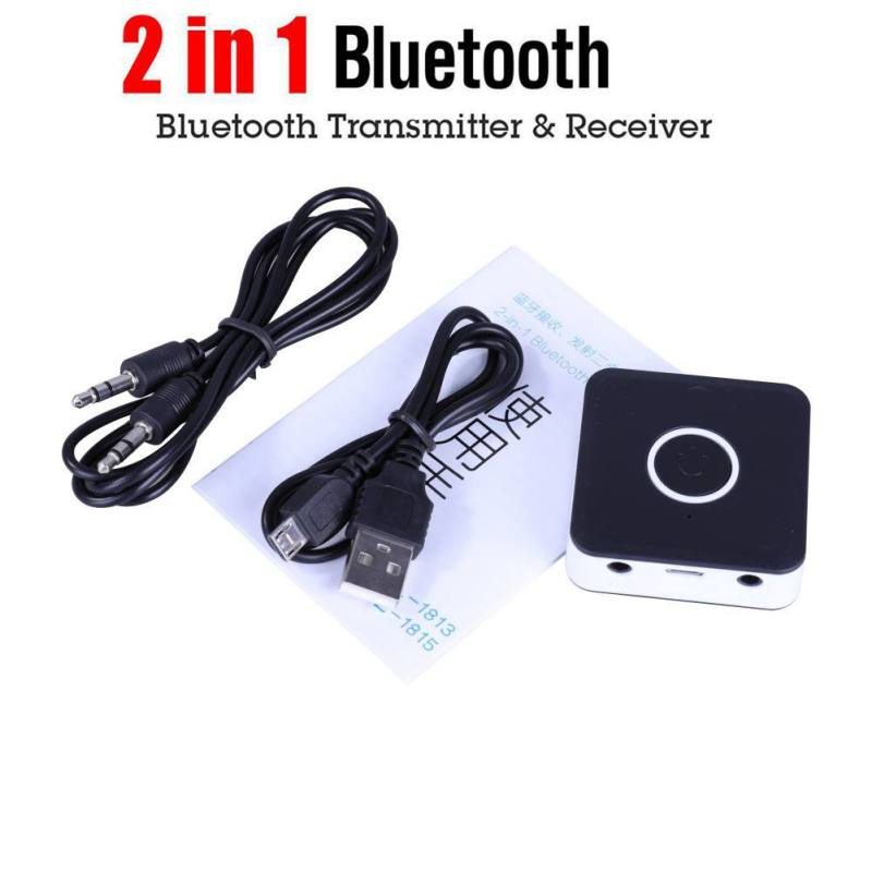 Unterhaltungselektronik 2 In 1 Wireless Bluetooth Sender Empfänger Adapter Bluetooth 4,2 Audio Adapter Mit Usb Ladekabel 3,5mm Audio Kabel Funkadapter