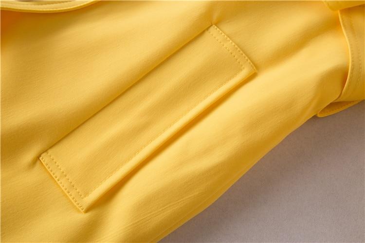 Fosa De Moda Prendas Vestir Diseñador Doble Las Medio Longitud XwXYACUqx