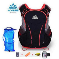 AONIJIE Men Women 1 5L Water Bag Cycling Hiking Bag Outdoor Sport Running 5L Backpack Marathon