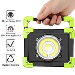 USB Charging Portable LED Work Lights Waterproof USB Rechargeable LED Flashlights 20W COB Led Flood Light Spotlight Outdoor
