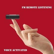Yescool A50 8 ГБ Цифровой диктофон дальние расстояния HD FM передатчик аудио активированный шифрование данных Профессиональный диктофон