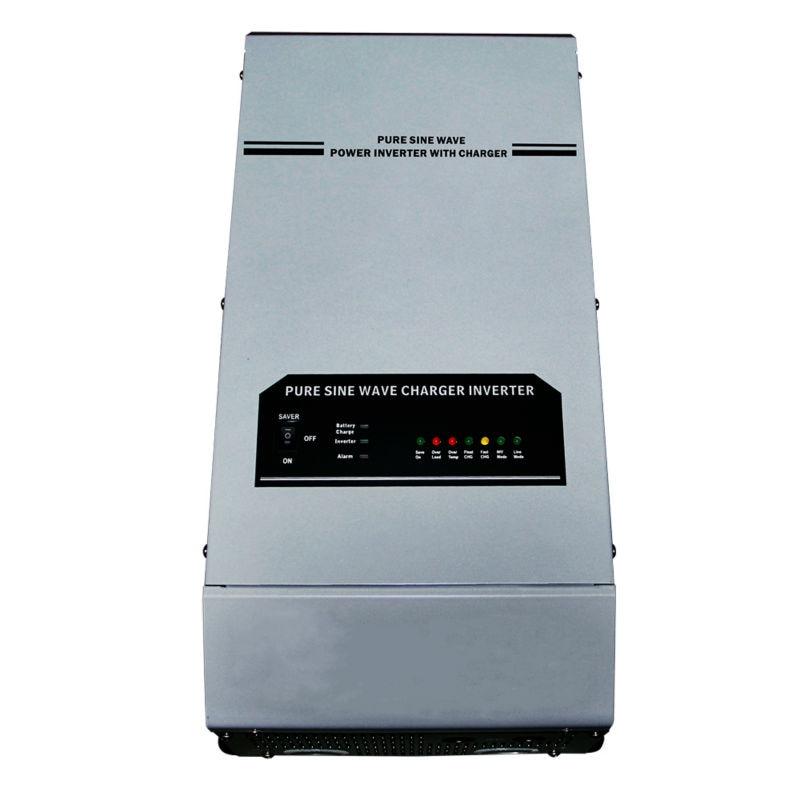 3KW 48V 220vac/230vac Power Inverter Pure Sine Wave 3000w Off Grid Solar Inverter with LED Display Built in Battery Charger 1000w off grid inverter with charger surge power 2000w dc12v to ac220v 60hz pure sine wave inverter with charge battery function