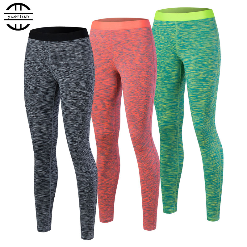 Hot Gym Fitness Leggings Trousers For Women Sports Tights Sportswear Yoga Pants Legging Womens Compression Black Running Pants